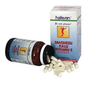 Slika Hafesan magnezij, kalij, vitamin E, 60 kapsul