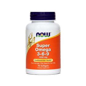 Slika Now Super omega 3-6-9, 90 kapsul