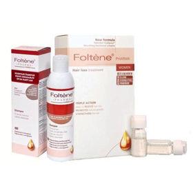 Slika 2x Foltene ampule za moške + regenerativni šampon (GRATIS)