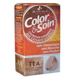 Slika Color & Soin barva za lase 11A pepelnato peščeno blond