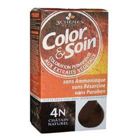 Slika Color & Soin barva za lase 4N naravno kostanjeva