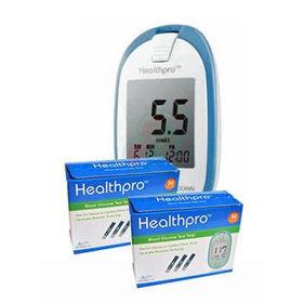 Slika 2x HealthPro testni lističi, 50 lističev + HealthPro aparat za merjenje glukoze!