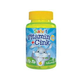 Slika Salvit vitamin C + Cink, 60 žele bonbonov
