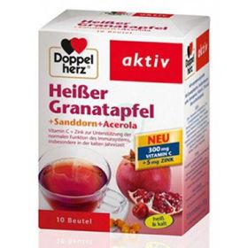 Slika Doppel Herz vroči napitek granatno jabolko+rakitovec+acerola, 10 vrečk