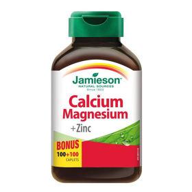 Slika Jamieson Kalcij, Magnezij in Cink, 200 tablet