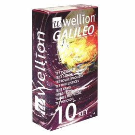 Slika Wellion Galileo merilni lističi za ketone, 10 lističev