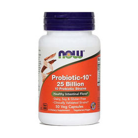 Slika Now probiotic-10, 50 kapsul