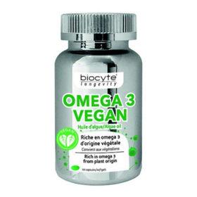 Slika Biocyte Omega 3 Vegan, 30 kapsul