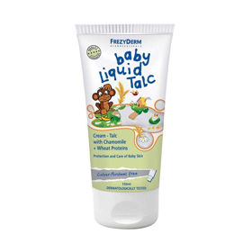 Slika Frezyderm Baby Liquid Talc otroški puder v kremi, 150 mL