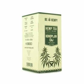 Slika Be Hempy konopljin čaj - filter vrečke, 20 vrečk