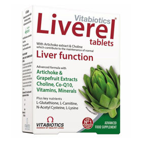 Slika Liverel Vitabiotics tablete za jetra, 60 tablet