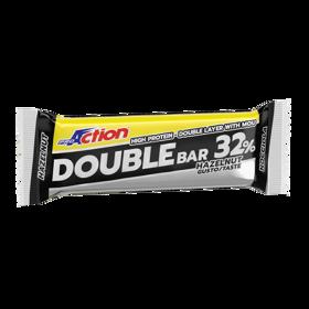 Slika Double bar, beljakovinska ploščica, 60 g, okus lešnik
