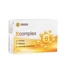 Slika Medex B kompleks, 30 kapsul