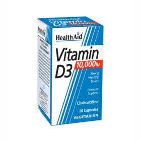 Slika HealthAid vitamin D3 10.000 IU, 30 kapsul