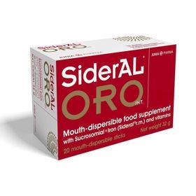 Slika SiderAL ORO INT. železo + C vitamin, 20 vrečic